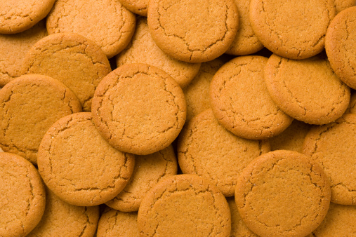 Gingerbread Cookie「Biscuits close-up」:スマホ壁紙(4)