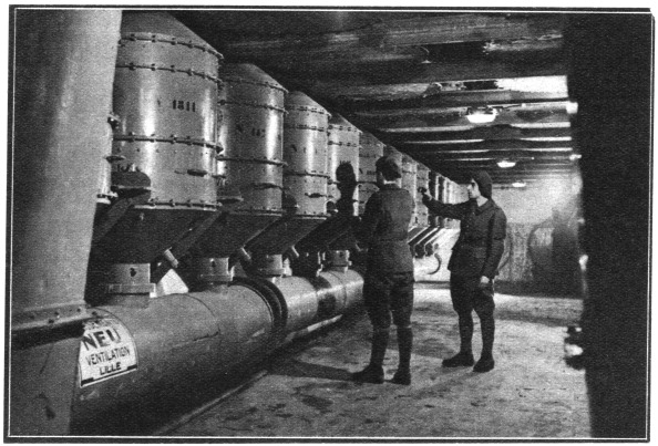 Ardennes Forest「Air filters, Maginot Line, France, 1939.」:写真・画像(9)[壁紙.com]