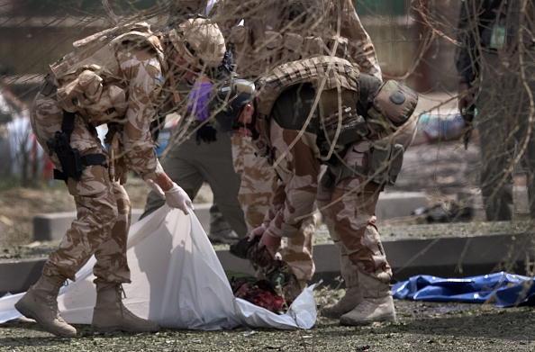 Kabul「Massive Kabul Car Bomb Targets Italian Troops Killing Sixteen」:写真・画像(14)[壁紙.com]