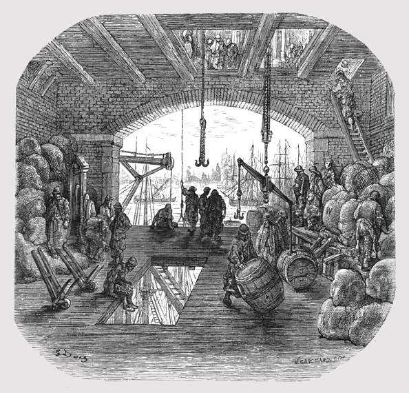 人の役割「Warehouses By The Thames」:写真・画像(12)[壁紙.com]