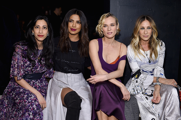 ニューヨークファッションウィーク「Prabal Gurung - Front Row - February 2017 - New York Fashion Week: The Shows」:写真・画像(7)[壁紙.com]