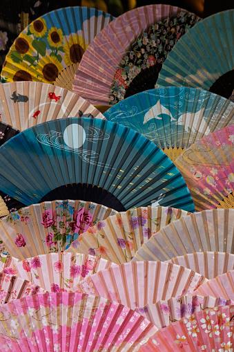 文化「Paper fans in Kyoto」:スマホ壁紙(12)