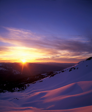 Alpenglow「Alpine Sunset」:スマホ壁紙(6)