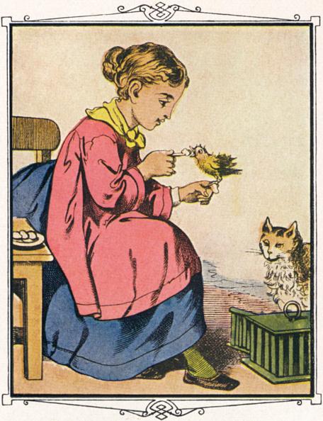 Fairy Tale「Alphabet des Petites Filles, c. 1860」:写真・画像(9)[壁紙.com]