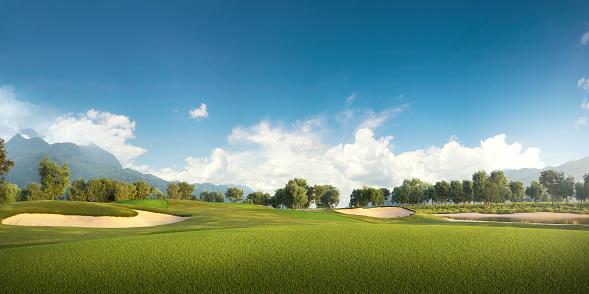 Vacations「Golf: Golf course」:スマホ壁紙(12)