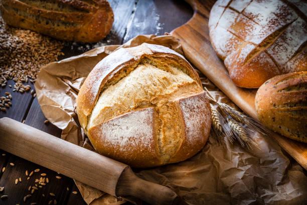 Loaf of bread still life:スマホ壁紙(壁紙.com)