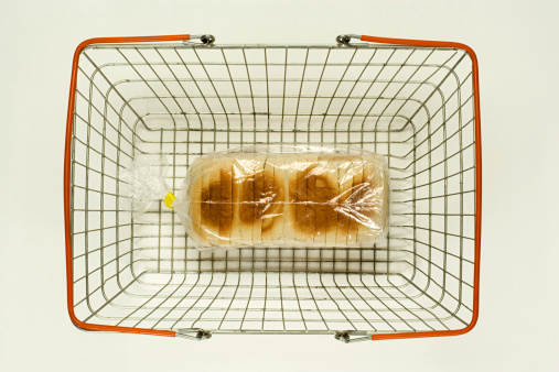 Shopping Basket「Loaf of bread in a shopping basket」:スマホ壁紙(19)
