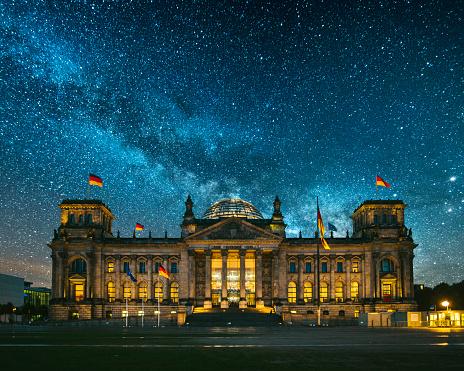 The Reichstag「Reichstag, Berlin」:スマホ壁紙(5)