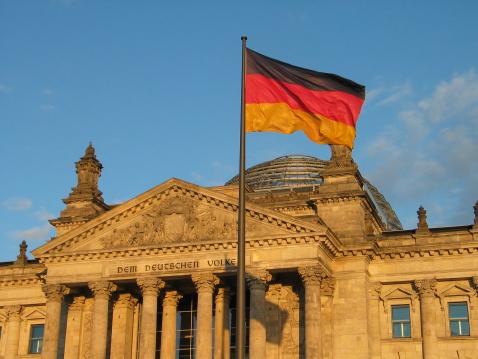 Election「Reichstag Berlin - German Flag」:スマホ壁紙(18)