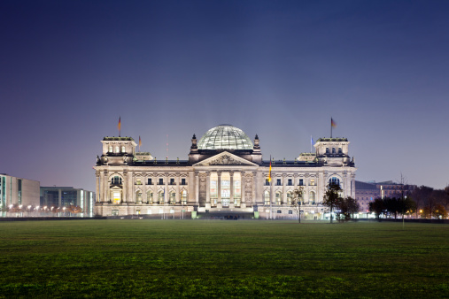 The Reichstag「Reichstag building at night」:スマホ壁紙(6)
