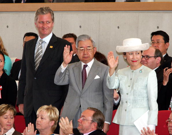 Princess Hanako of Japan「Belgian Crown Prince Philippe Visits The World Expo At Aichi」:写真・画像(10)[壁紙.com]