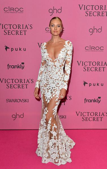 キャンディス・スワンポール「2014 Victoria's Secret Fashion Show - Pink Carpet」:写真・画像(18)[壁紙.com]