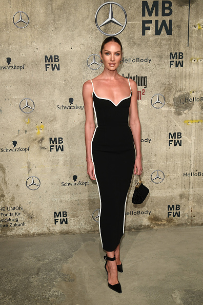 Candice Swanepoel「Mercedes-Benz presents Fashion Talents From South Africa - Arrivals - Berlin Fashion Week Autumn/Winter 2020」:写真・画像(1)[壁紙.com]