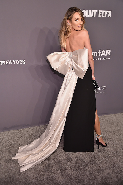 キャンディス・スワンポール「amfAR New York Gala 2019 - Arrivals」:写真・画像(18)[壁紙.com]