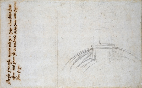 Copy Space「Sketch Showing The Join Of The Lantern And Cupola」:写真・画像(2)[壁紙.com]