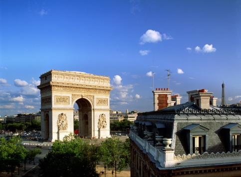 Arc de Triomphe - Paris「France,Paris,Arc de Triomphe」:スマホ壁紙(3)