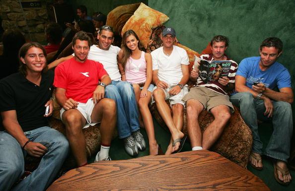 アンディ ラム「ATP Players Visit the Playboy Mansion」:写真・画像(13)[壁紙.com]
