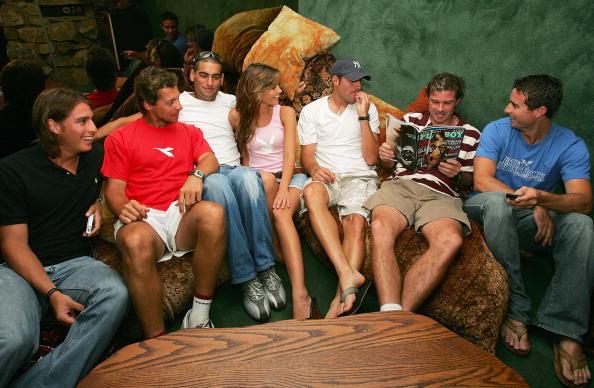 アンディ ラム「ATP Players Visit the Playboy Mansion」:写真・画像(14)[壁紙.com]