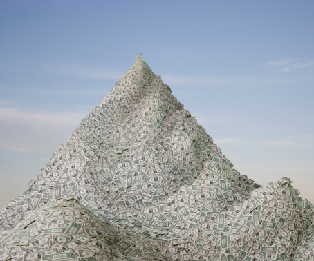 Heap「A Mountain of money」:スマホ壁紙(3)