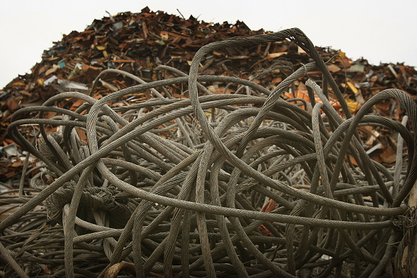 Aluminum「Scrap Mountain Destined For Recycling Abroad」:写真・画像(9)[壁紙.com]