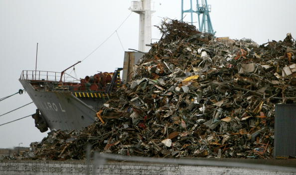 Aluminum「Scrap Mountain Destined For Recycling Abroad」:写真・画像(6)[壁紙.com]
