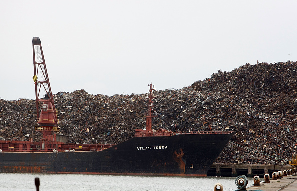 Aluminum「Scrap Mountain Destined For Recycling Abroad」:写真・画像(10)[壁紙.com]
