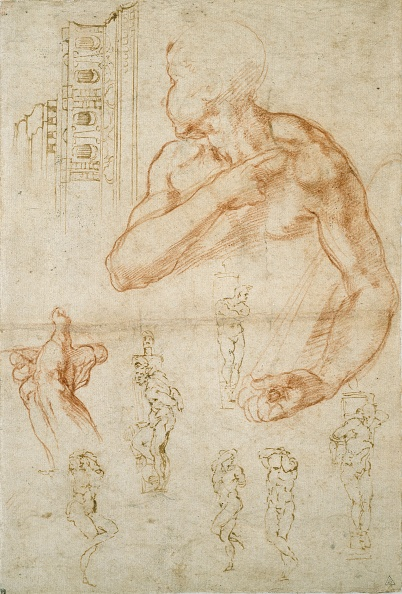 Drawing - Activity「Various Studies For The Sistine Ceiling And The Tomb Of Pope Julius Ii」:写真・画像(13)[壁紙.com]