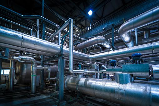 Oil Industry「Detail of chemical plant」:スマホ壁紙(19)