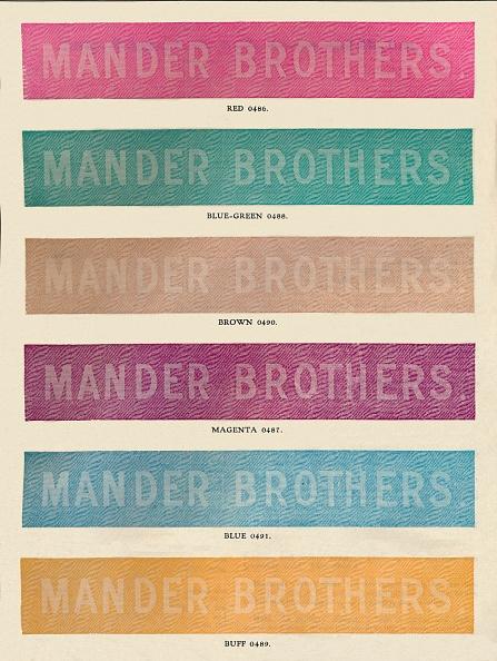 Manufacturing Equipment「Linotype Practise - Mander Brothers Advert, 1910」:写真・画像(19)[壁紙.com]