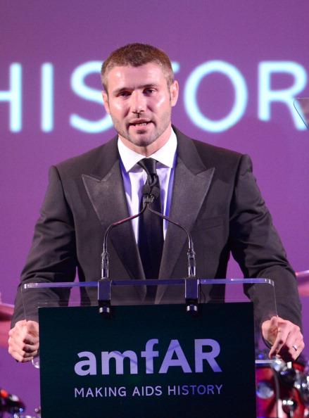 Rugby player Ben Cohen「3rd Annual amfAR Inspiration Gala New York - Show」:写真・画像(14)[壁紙.com]