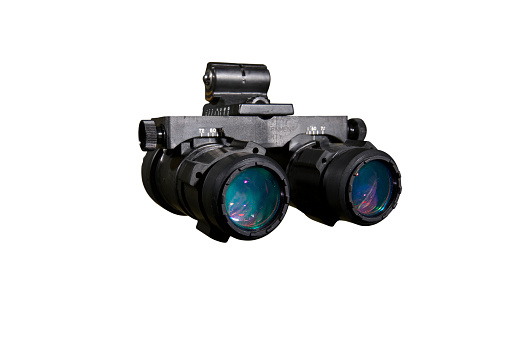 Armed Forces「AN/AVS-6 night vision goggles used by the military.」:スマホ壁紙(6)