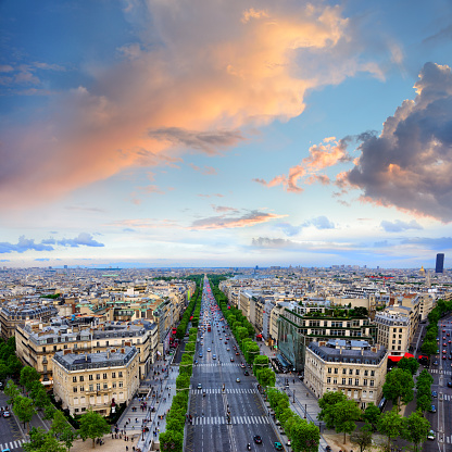 Arc de Triomphe - Paris「Champs Elysees, Paris」:スマホ壁紙(15)