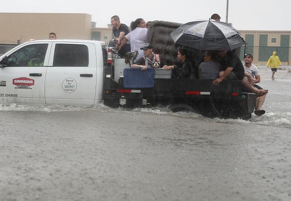 USA「Hurricane Harvey Slams Into Texas Gulf Coast」:写真・画像(9)[壁紙.com]