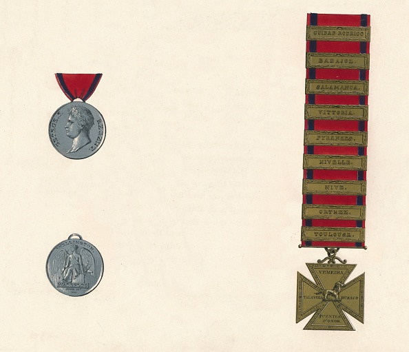 Model - Object「Waterloo & Military General Service Medal 1793-1814」:写真・画像(18)[壁紙.com]