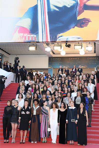 "Messika「""Girls Of The Sun (Les Filles Du Soleil)"" Red Carpet Arrivals - The 71st Annual Cannes Film Festival」:写真・画像(15)[壁紙.com]"