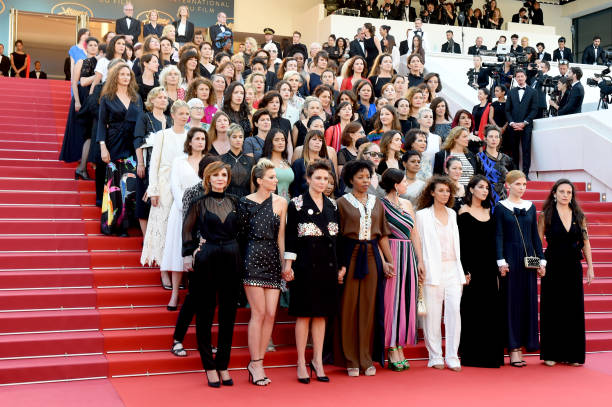 """Girls Of The Sun (Les Filles Du Soleil)"" Red Carpet Arrivals - The 71st Annual Cannes Film Festival:ニュース(壁紙.com)"
