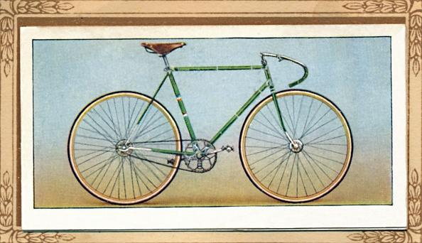 Cigarette Card「Path Racing Bicycle」:写真・画像(9)[壁紙.com]