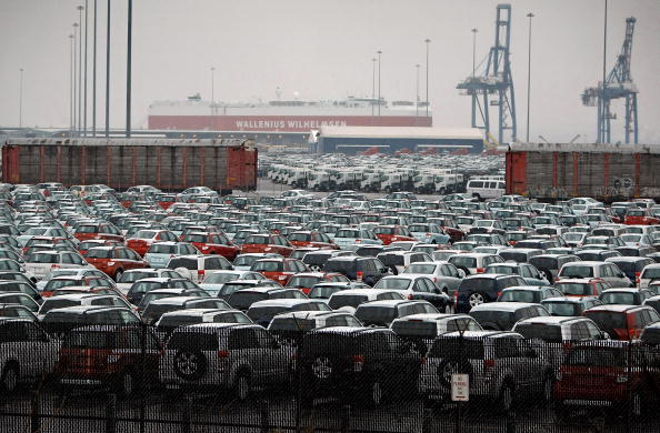 Maryland - US State「In Shaky Economy, New Cars Pile Up At U.S. Ports」:写真・画像(16)[壁紙.com]