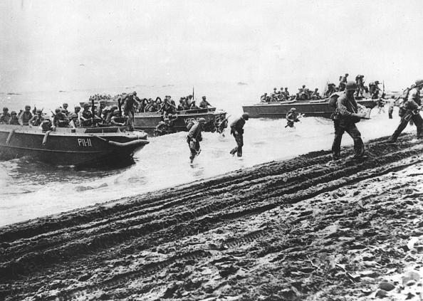 Pacific War「Marines Landing」:写真・画像(10)[壁紙.com]