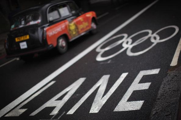 Transportation「First Olympic Lanes Open In London」:写真・画像(0)[壁紙.com]