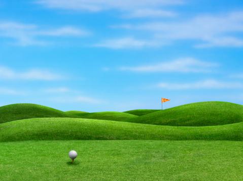 Taking a Shot - Sport「Golf」:スマホ壁紙(12)
