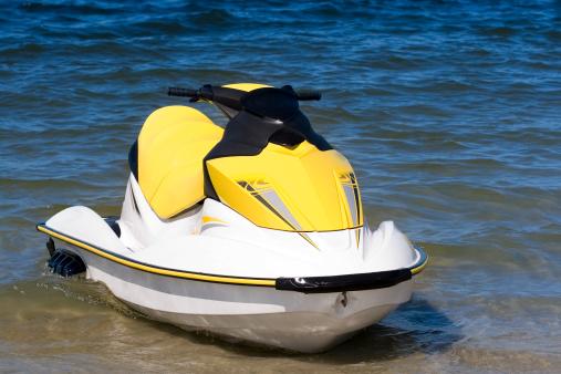 Water's Edge「Yellow jet ski」:スマホ壁紙(19)