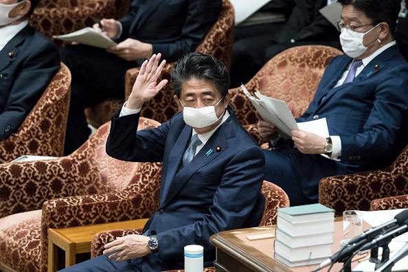 Politics「Japanese Prime Minister Abe Attends Diet Amid The Global Coronavirus Pandemic」:写真・画像(0)[壁紙.com]