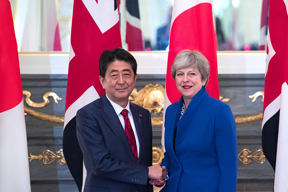 上半身「Theresa May's First Official Visit To Japan As Prime Minister - Day Two」:写真・画像(16)[壁紙.com]