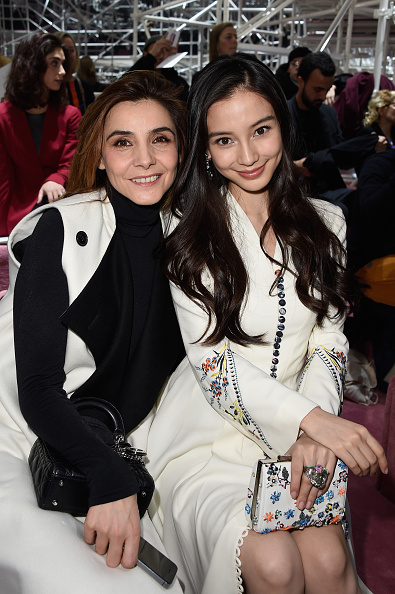 Angelababy「Christian Dior : Front Row - Paris Fashion Week - Haute Couture S/S 2015」:写真・画像(10)[壁紙.com]
