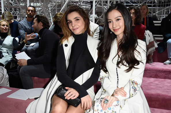 Angelababy「Christian Dior : Front Row - Paris Fashion Week - Haute Couture S/S 2015」:写真・画像(11)[壁紙.com]