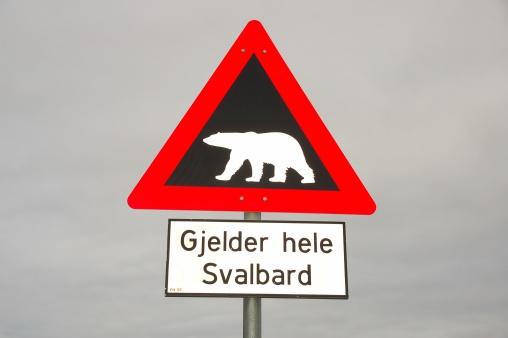 Svalbard and Jan Mayen「Spitsbergen – traffic sign」:スマホ壁紙(8)