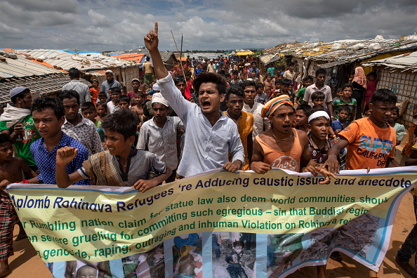 Human Rights「Rohingya Refugees Mark One Year Since The Crisis」:写真・画像(13)[壁紙.com]