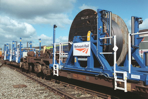 Finance and Economy「Network Rail cable laying train.」:写真・画像(16)[壁紙.com]