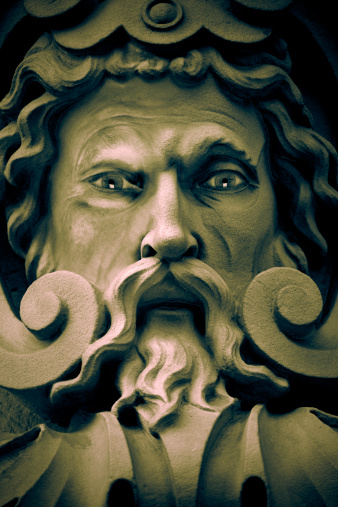 Greco-Roman Style「Stone Viking Statue with Long Beard」:スマホ壁紙(18)